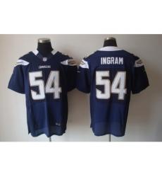 Nike San Diego Chargers 54 Melvin Ingram Dark Blue Elite NFL Jersey