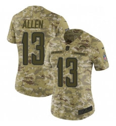 Womens Nike Los Angeles Chargers 13 Keenan Allen Limited Camo 2018 Salute to Service NFL Jersey