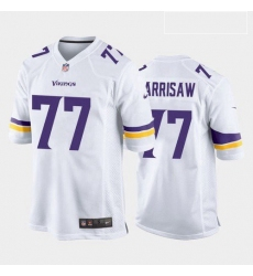 Men Minnesota Vikings Christian Darrisaw Purple White 2021 Draft Jersey