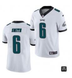 Youth Philadelphia Eagles #6 DeVonta Smith 2021 NFL Draft White Vapor Untouchable Limited Stitched Jersey