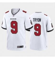 Men Tampa Bay Buccaneers Joe Tryon Red White 2021 Draft Jersey
