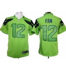 Nike Seattle Seahawks 12 Fan Green Game NFL Jersey