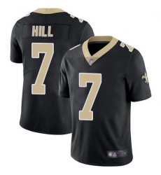 Men New Orleans Saints 7 Taysom Hill Black Team Color Stitched Football Vapor Untouchable Limited Jersey