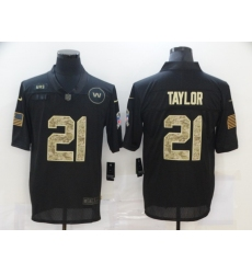 Nike Washington Football Team 21 Sean Taylor Black Camo Vapor Untouchable Limited Jersey