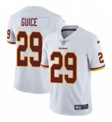 Youth Nike Washington Redskins 29 Derrius Guice White Vapor Untouchable Elite Player NFL Jersey