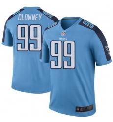 Men Tennessee Titans 99 Jadeveon Clowney Light Blue Vapor Untouchable Limited Jersey
