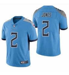 Nike Tennessee Titans 2 Julio Jones Light Blue Alternate Men Stitched NFL Vapor Untouchable Limited Jersey