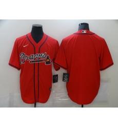Men Nike Atlanta Braves Blank MLB Jersey