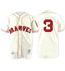 Men's 1935 Boston Braves Babe Ruth Mitchell & Ness White Jersey