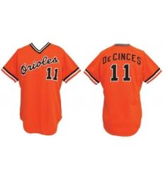 Men 1977 Doug DeCinces Baltimore Orioles 11 Home Jersey
