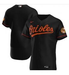 Men Baltimore Orioles Nike Black Blank Jersey