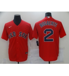 Men Boston Red Sox Xander Bogaerts 2 Red Home Jersey