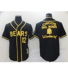 Men Chicago Bears Film Bail Bonds Let Freedom Ring Black Base Ball Jersey