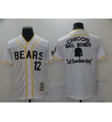 Men Chicago Bears Film Bail Bonds Let Freedom Ring White Base Ball Jersey
