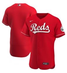 Men Cincinnati Reds Men Nike Red Alternate 2020 Flex Base MLB Jersey