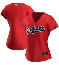 Cleveland Indians Nike Women Alternate 2020 MLB Team Jersey Red