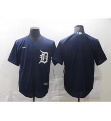 Men Detroit Tigers Nike Blue Blank Jersey