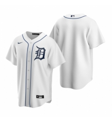 Mens Nike Detroit Tigers Blank White Home Baseball Jersey