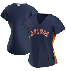 Houston Astros Nike Women Alternate 2020 MLB Team Jersey Navy
