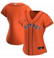 Houston Astros Nike Women Alternate 2020 MLB Team Jersey Orange
