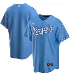 Men Kansas City Royals Nike Blue Blank Jersey
