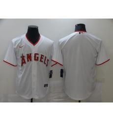 Men Los Angeles Angels Nike White Blank Jersey II