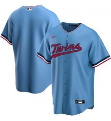 Men Minnesota Twins Nike Blue Blank Jersey