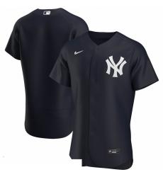 Men New York Yankees Men Nike Navy Alternate 2020 Flex Base Official Team MLB Jersey