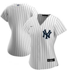 New York Yankees Nike Women Home 2020 MLB Team Jersey White