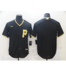 Men Pittsurgh Pirates Nike Black Blank Jersey