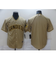 Men Nike San Diego Padres Brown Blank Coolbase Jersey