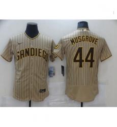 Men Nike San Diego Padres Joe Musgrove Sand Brown Collection Baseball Player Jersey