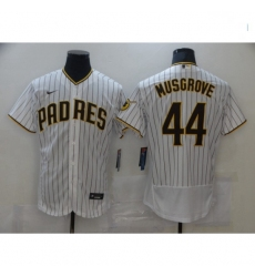 Men Nike San Diego Padres Joe Musgrove White Brown Collection Baseball Player Jersey