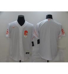 Men's San Francisco Giants Blank Nike White 2021 City Connect Replica Player Jersey