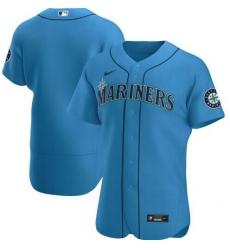 Mariners Blank Light Blue 2020 Nike Cool Base Jersey