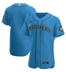 Men Seattle Mariners Men Nike Royal Alternate 2020 Flex Base Official Team MLB Jersey