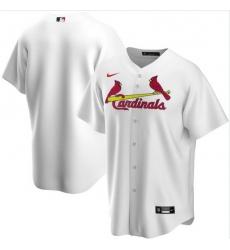 Men St. Louis Cardinals Nike White Blank Jersey