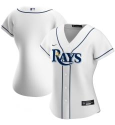 Tampa Bay Rays Nike Women Home 2020 MLB Team Jersey White