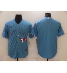 Men Nike Toronto Blue Jays blue Blank Coolbase Jersey