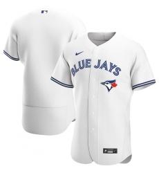 Men Toronto Blue Jays Men Nike White Home 2020 Flex Base MLB Jersey