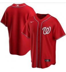 Men Washington Nationals Nike Red Blank Jersey