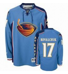 Ilya Kovalchuk #17 Atlanta Thrashers Light Blue Premier PA Jersey