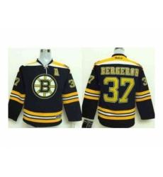 Youth nhl boston bruins #37 bergeron black[patch A]