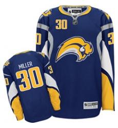 Buffalo Sabres Ryan Miller jersey 30# Blue NEW Third Jersey