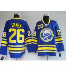 Buffalo Sabres Vanek #26 Thomas Vanek Blue