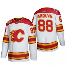Men Calgary Flames 88 Andrew Mangiapane Authentic 2019 Heritage Classic White Jersey