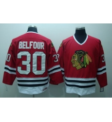 Chicago Blackhawks 30 ED belfour Red Jersey CCM