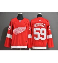 Red Wings 59 Tyler Bertuzzi Red Adidas Jersey