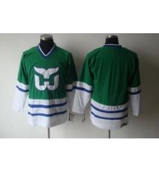 CCM Hartford Whalers Blank Green jersey