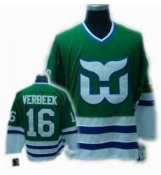 CCM Hartford Whalers jersey #16 VERBEEK jersey